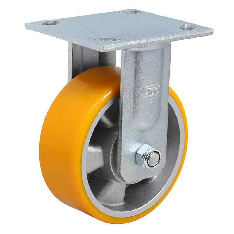 易得力重型5英寸400kg定向高强度聚氨酯铝芯(TPU)亚博体育苹果下载70105-705-86A