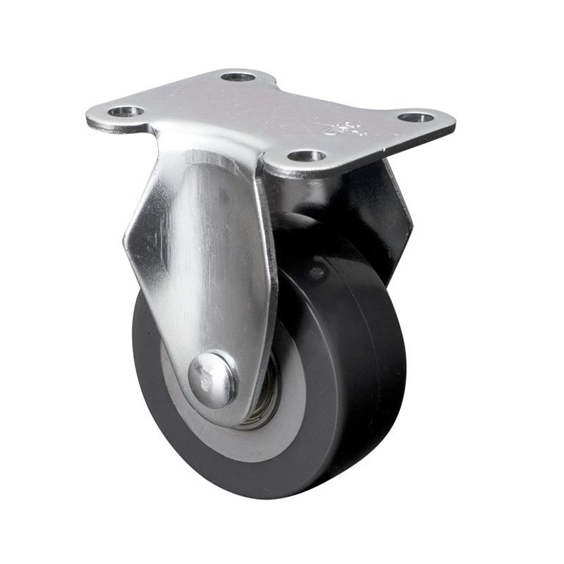易得力小型2英寸40kg定向聚氨酯PU亚博体育苹果下载26102-262-76