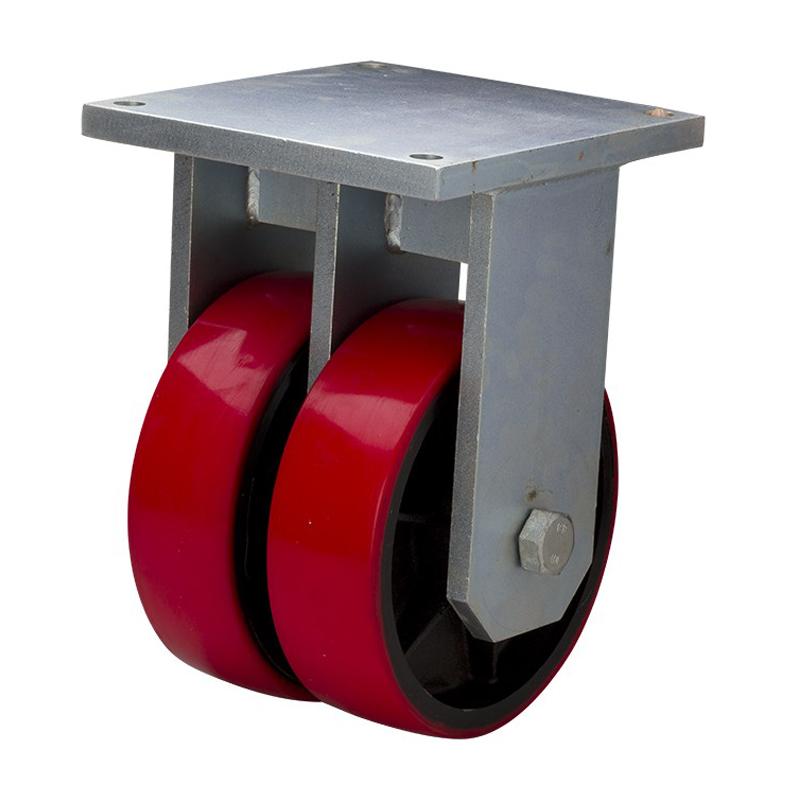 易得力重磅型10英寸3000kg定向高强度聚氨酯(TPU)亚博体育苹果下载951010-9510-86T