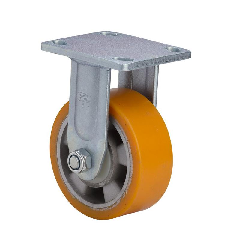 易得力重型5英寸700kg定向高强度聚氨酯铝芯(TPU)亚博体育苹果下载 78105-785-86A
