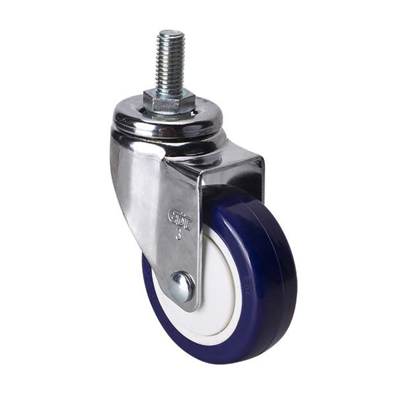 EDL Light 3'' 80kg Threaded Swivel TPU Caster 37233-373-87