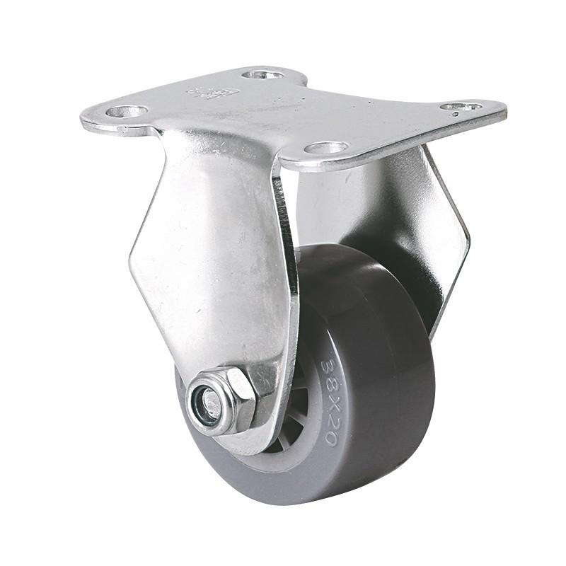 易得力不锈钢小型1.5英寸35kg定向聚氨酯PU亚博体育苹果下载S267015-S2615-73
