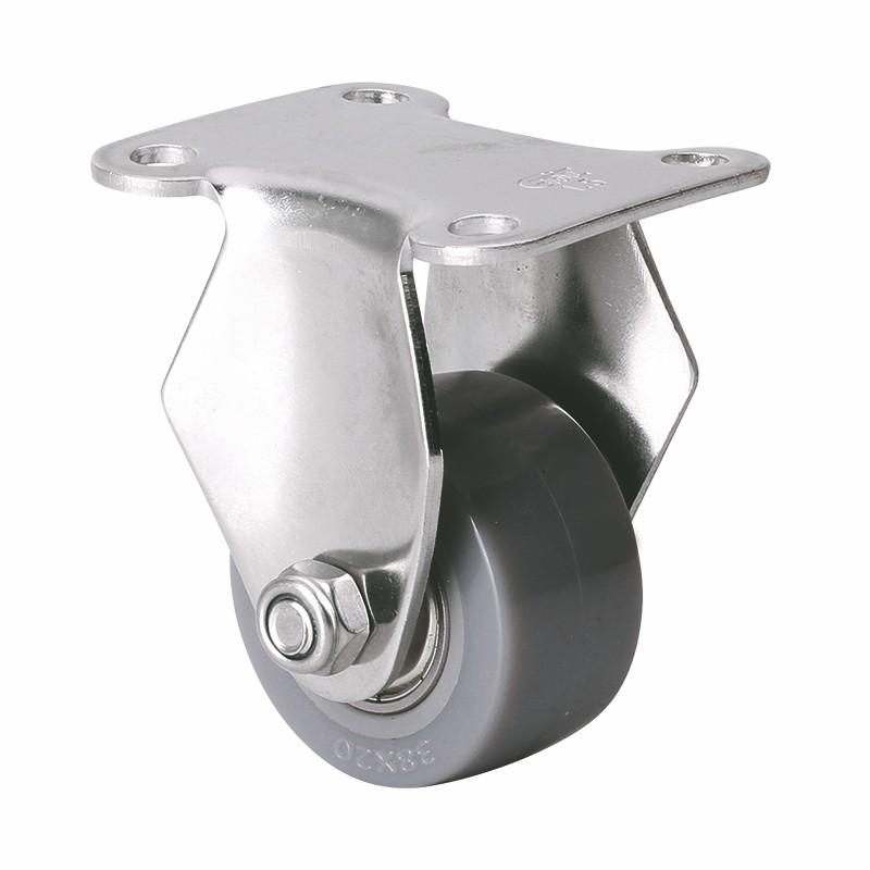 易得力不锈钢小型1.5英寸35kg定向聚氨酯PU亚博体育苹果下载S267015-S2615-76