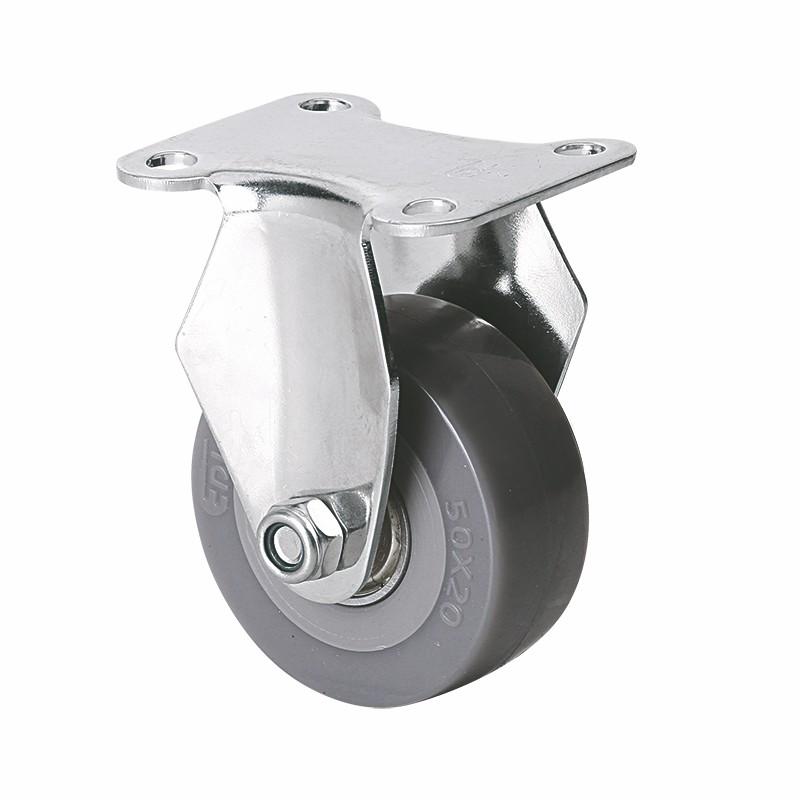 易得力不锈钢小型2英寸40kg定向聚氨酯PU亚博体育苹果下载S26702-S262-76