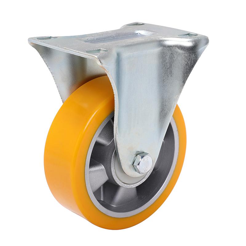 易得力重型6英寸430kg定向高强度聚氨酯铝芯(TPU)亚博体育苹果下载 77106-786-86A/M12X80