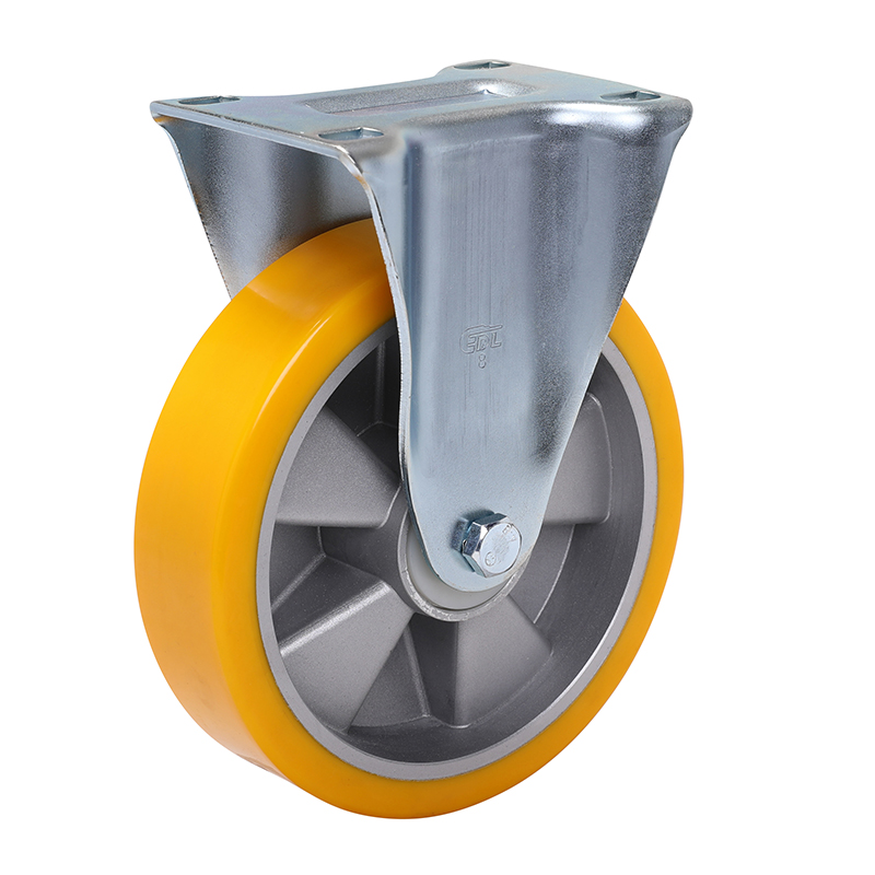 易得力重型8英寸450kg定向高强度聚氨酯铝芯(TPU)亚博体育苹果下载 77108-788-86A/M12X80