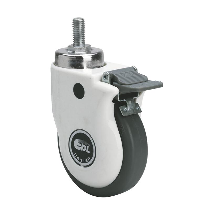 易得力4寸70kg丝口刹车人造胶(TPE)医疗亚博体育苹果下载 E37144H-E374-57