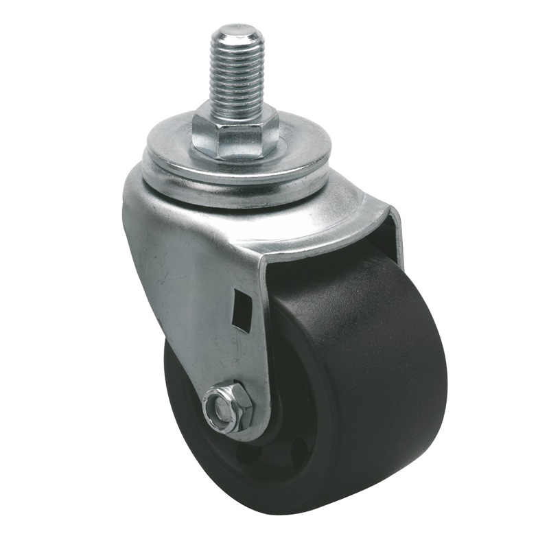 "EDL Low Gravity 3"" 180kg Threaded Swivel PO Machine Caster M62133-M623-03"
