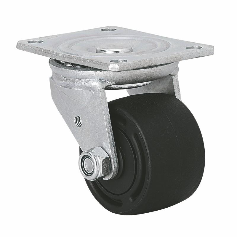 易得力 低重心3寸280Kg平顶万向尼龙(PA)设备亚博体育苹果下载 M72113-M723-16