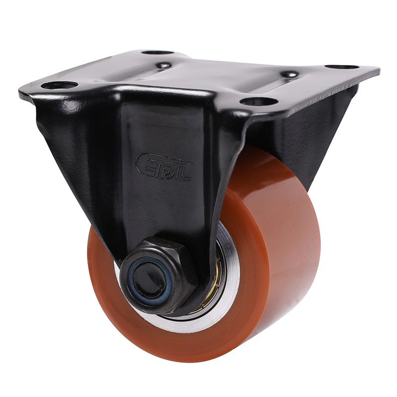易得力低重心2寸250kg定向高强度聚氨酯TPU设备亚博体育苹果下载M41302-M412-86A
